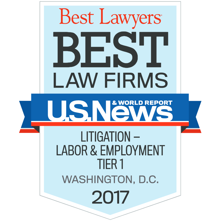 best washington dc maryland virginia employment lawyers