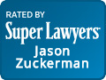 Jason Zuckerman Rated by Super Lawyers