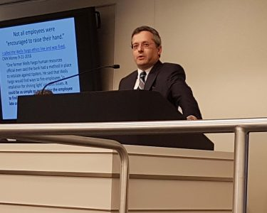 Image of SEC Whistleblower Attorney Speaks At Seminar About Developments in Whistleblower Law