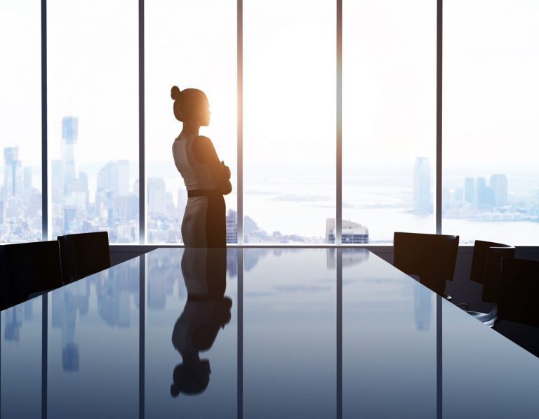 Image of Fortune 500 glass ceiling endures:  only 5% of CEOs are women