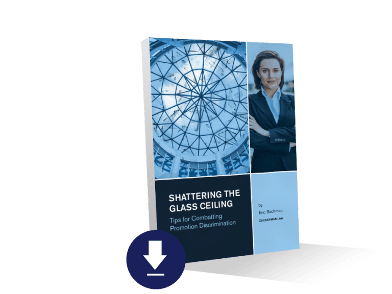 """Image of Leading discrimination lawyer issues guide to """"Shattering the Glass Ceiling: Tips for Combatting Promotion Discrimination"""""""
