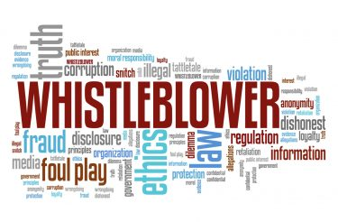 Image of What is a whistleblower?