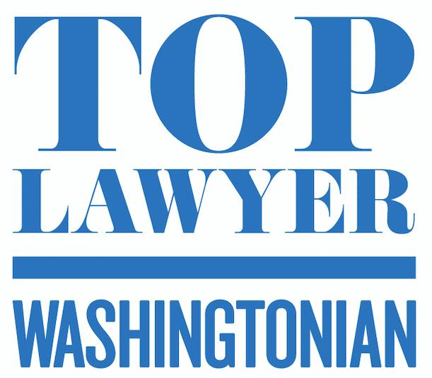 Top Lawyer Washingtonian badge