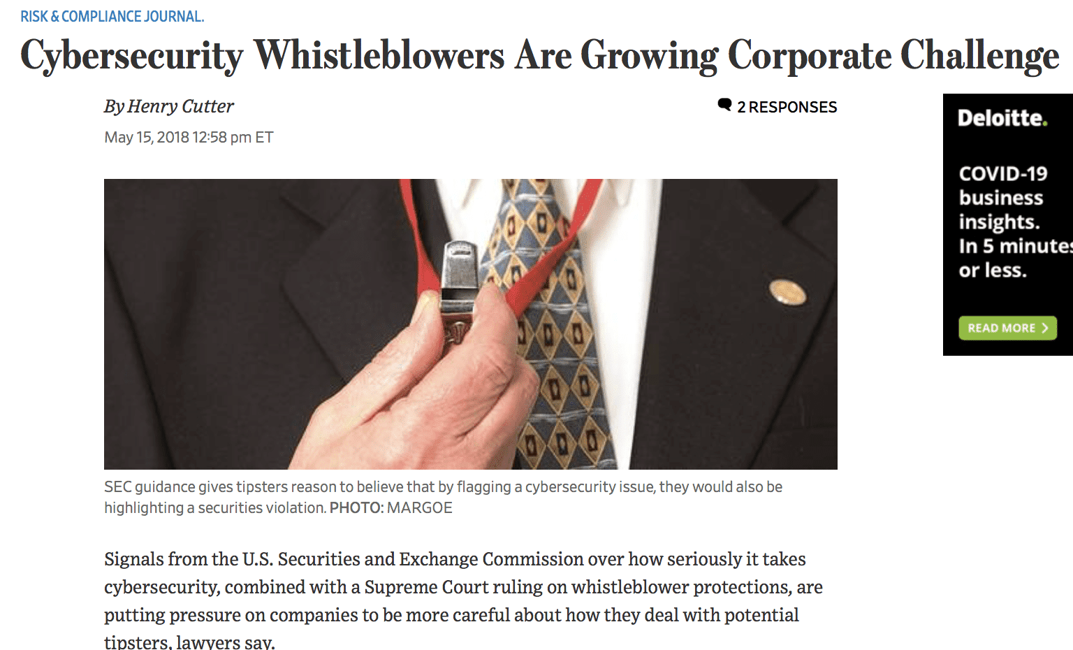 cybersecurity whistleblower lawyers