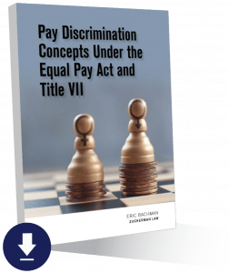 Image of Gender discrimination attorney publishes guide to the Equal Pay Act