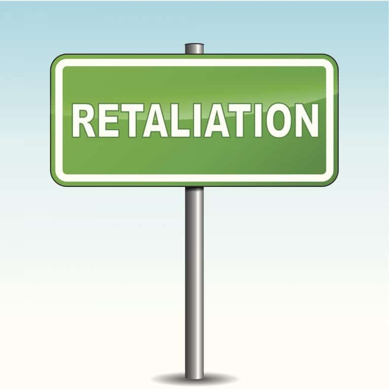 Image of What law prohibits retaliation against an employee for reporting discrimination?