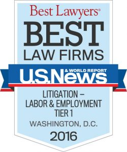 "Image of Whistleblower Law Firm Zuckerman Law Recognized as Tier 1 Firm in Washington DC in U.S. News – Best Lawyers® ""Best Law Firms"""